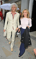 Bob Geldof and Jeanne Marine at the Stella McCartney new eco-friendly flagship store opening party, Stella McCartney, Old Bond Street, London, England, UK, on Tuesday 12 June 2018.<br /> CAP/CAN<br /> &copy;CAN/Capital Pictures