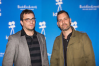 Amsterdam, november 2016, IDFA International Documentary Filmfestival Amsterdam. Premierewand IDFA in de Brakke Grond met: Links Brian Chirls rechts Nathan Philips. Photo Nichon Glerum