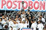 Atletico Nacional derroto 2x0  a Independiente Santa Fe y se corono campeon de la liga de postobon del futbol Colombiano