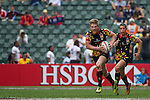 Wales vs Belgium during the HSBC Sevens Wold Series Bowl Quarter Finals match as part of the Cathay Pacific / HSBC Hong Kong Sevens at the Hong Kong Stadium on 29 March 2015 in Hong Kong, China. Photo by Manuel Bruque / Power Sport Images