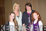 SHOW: Sarah and Ellen Healy and Bridie and Lorraine Kenny from Ballyheigure having a great time at the Fashion Show in aid of the Cancer Society and Recovery Haven at the Carlton hotel on Sunday.