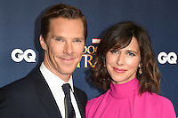 "Benedict Cumberbatch and wife, Sophie Hunter<br /> at the ""Doctor Strange"" launch event, Westminster Abbey, London.<br /> <br /> <br /> ©Ash Knotek  D3189  24/10/2016"