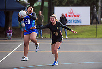 Netball. 2019 AIMS games at Blake Park in Mount Maunganui, New Zealand on Wednesday, 11 September 2019. Photo: Dave Lintott / lintottphoto.co.nz