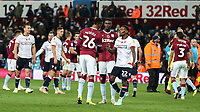 Players from both teams shake hands at the end of the match<br /> <br /> Photographer Andrew Kearns/CameraSport<br /> <br /> The EFL Sky Bet Championship - Aston Villa v Bolton Wanderers - Friday 2nd November 2018 - Villa Park - Birmingham<br /> <br /> World Copyright &copy; 2018 CameraSport. All rights reserved. 43 Linden Ave. Countesthorpe. Leicester. England. LE8 5PG - Tel: +44 (0) 116 277 4147 - admin@camerasport.com - www.camerasport.com
