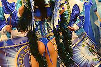 SAO PAULO, SP, 19 DE FEVEREIRO 2012 - CARNAVAL SP -  Danielle França.UNIDOS DO PERUCHE - Desfile da escola de samba Unidos do Peruche na terceira noite do Carnaval 2012 de São Paulo, no Sambódromo do Anhembi, na zona norte da cidade, neste domingo.(FOTO:ADRIANO LIMA  - BRAZIL PHOTO PRESS).