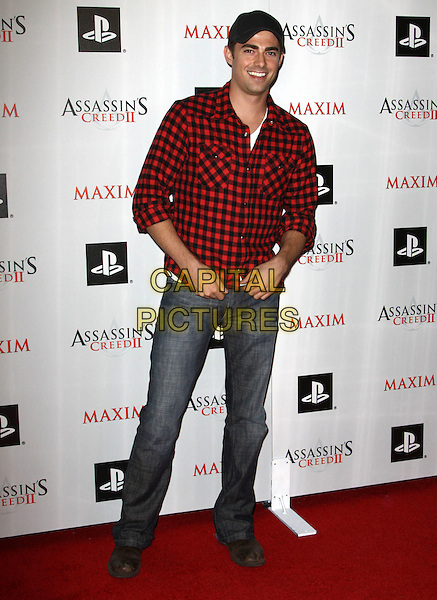 JONATHAN BENNETT.Maxim And Ubisoft Celebrate The Launch Of 'Assassin's Creed II' held At Voyeur, West Hollywood, California, USA..November 11th, 2009.full length jeans denim red black check shirt.CAP/ADM/KB.©Kevan Brooks/AdMedia/Capital Pictures.