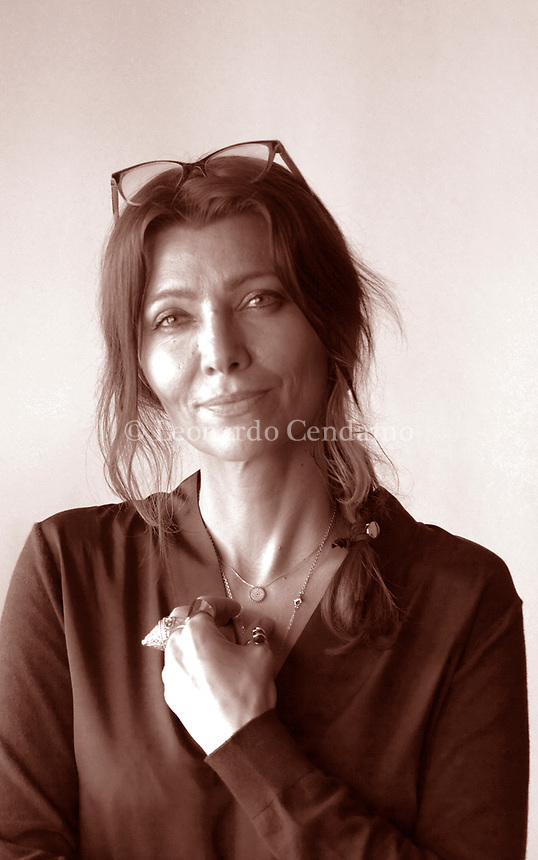 Elif Shafak; è una scrittrice turca. Ha pubblicato romanzi scritti in turco e in inglese ed è l'autrice più venduta in Turchia. Mantova 4 settembre 2019. Photo Leonardo Cendamo