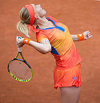 Svetlana Kuznetsova (RUS) defeats Camila Giorgi (ITA) 7-6, 6-3 at  Roland Garros being played at Stade Roland Garros in Paris, France on May 29, 2014