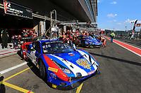 #72 SMP RACING (RUS) FERRARI 488 GT3 PRO CUP MIKHAIL ALESHIN (RUS) MIGUEL MOLINA (ESP) DAVIDE RIGON (ITA)