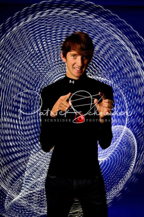 Yo-Yo King Alex Curfman, 19, from Richmond, Virginia.