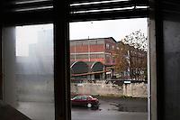 Voghera 16-04-2012:  la fabbrica ex Fibronit a Broni..L'azienda ha lavorato amianto dal 1914 al 1994 a Broni (PV) causando, in proporzione per numero di abitanti, più vittime per mesotelioma pleurico di Casale Moferrato.