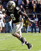 October 03, 2008: Purdue wide receiver Desmond Tardy. The Penn State Nittany Lions defeated the Purdue Boilermakers 20-06 on October 03, 2008 at Ross-Ade Stadium, West Lafayette, Indiana.