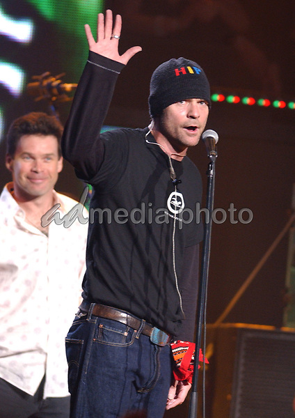 03 April 2005 - Winnipeg, Manitoba - Gord Downie of Tragically Hip. The 34th Annual  Juno AwardsTelecast held at the MTS Centre. The Juno Awards are annually awarded to Canada's best musicians. Photo Credit: Laura Farr/AdMedia