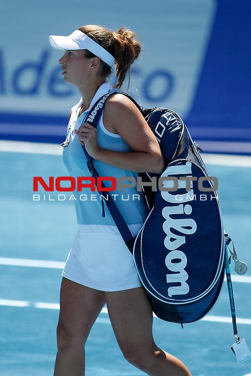 Petra Cetkovska during Madrid Open Tennis 2012 Match.May, 9, 2012Foto © nph / Foto © nph/Acero) *** Local Caption ***