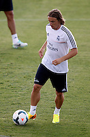 Modric during Real Madrid´s first training session of 2013-14 seson. July 15, 2013. (ALTERPHOTOS/Victor Blanco) ©NortePhoto