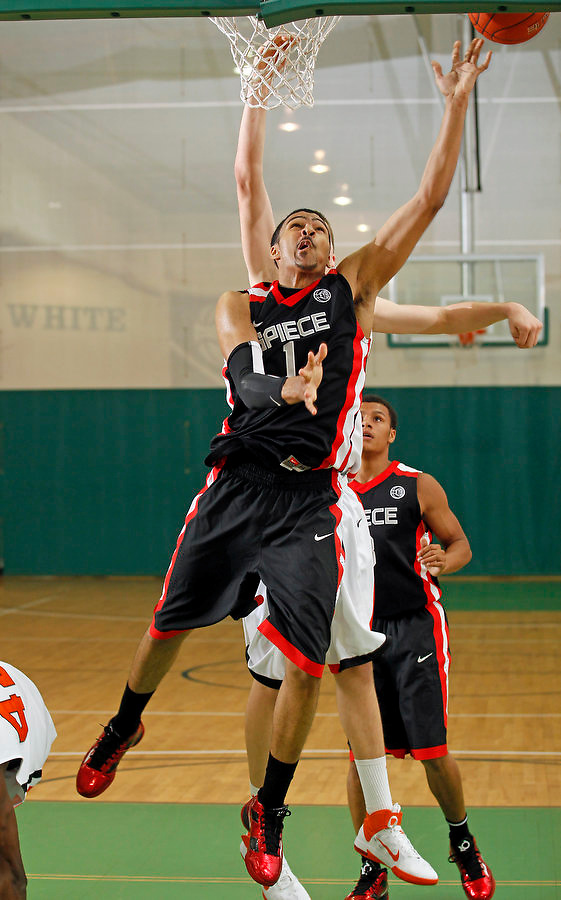 April 10, 2011 - Hampton, VA. USA;  DeJuan Marrero participates in the 2011 Elite Youth Basketball League at the Boo Williams Sports Complex. Photo/Andrew Shurtleff