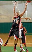 April 10, 2011 - Hampton, VA. USA;  DeJuan Marrero participates in the 2011 Elite Youth Basketball League at the Boo Williams Sports Complex. Photo/Andrew Shurtleff