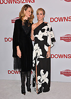 Laura Dern &amp; Kristen Wiig at the special screening of &quot;Downsizing&quot; at the Regency Village Theatre, Westwood, USA 18 Dec. 2017<br /> Picture: Paul Smith/Featureflash/SilverHub 0208 004 5359 sales@silverhubmedia.com