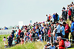 Part of the huge crowds enjoy a brief spell of sunshine during Round 2 of the 3 Irish Open on 15th May 2009 (Photo by Eoin Clarke/GOLFFILE)