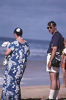 Orange County Beach Tourists Of 1985