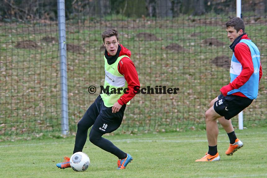 Vaclav Kadlec (Eintracht) gegen Marc-Oliver Kempff (Eintracht)