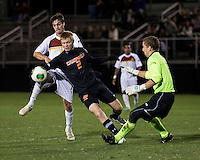The Winthrop University Eagles lose 2-1 in a Big South contest against the Campbell University Camels.  Cameron Mulvey (2), Ethan Hall (1), Mason Lavallet (9)