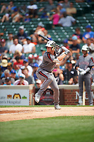 Cole Turney (14) of Fort Bend Travis High School in Richmond, Texas during the Under Armour All-American Game presented by Baseball Factory on July 23, 2016 at Wrigley Field in Chicago, Illinois.  (Mike Janes/Four Seam Images)