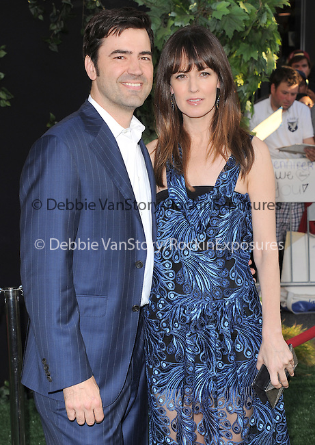 Rosemarie DeWitt and Ron Livingston at The World Premiere of Disney's The Odd Life of Timothy Green held at The El Capitan Theatre in Hollywood, California on August 06,2012                                                                               © 2012 DVS/Hollywood Press Agency