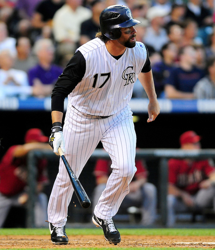 July 21, 2009: Rockies 1st baseman Todd Helton during a regular season game between the Arizona Diamondbacks and the Colorado Rockies at Coors Field in Denver, Colorado. The Diamondbacks beat the Rockies 6-5. *****For editorial use only*****