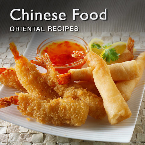 Food pictures & images of prepared Chinese & Oriental recipe dishes and ingredients