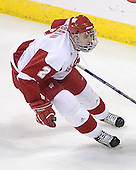 Wisconsin Badger Jamie McBain of Faribault, Minnesota played for the US Under-18 team last season.  The freshman defenseman was drafted 63rd overall by the Carolina Hurricanes in the 2006 NHL Entry Draft. The Boston College Eagles defeated the University of Wisconsin Badgers 3-0 on Friday, October 27, 2006, at the Kohl Center in Madison, Wisconsin in their first meeting since the 2006 Frozen Four Final which Wisconsin won 2-1 to take the national championship.<br />