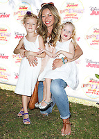 PASADENA, CA, USA - AUGUST 16: Billie Beatrice Dane, Rebecca Gayheart, Georgia Dane at the Disney Junior's 'Pirate And Princess: Power Of Doing Good' Tour held at Brookside Park on August 16, 2014 in Pasadena, California, United States. (Photo by Celebrity Monitor)