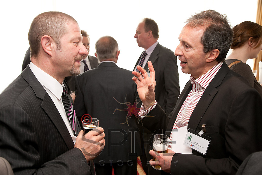 Kevin Ewell (left) of RBS and Perry Lewis of Mission Corporate Finance