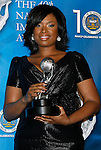 LOS ANGELES, CA. - February 12: Actress/Singer Jennifer Hudson poses in the press room for the 40th NAACP Image Awards at the Shrine Auditorium on February 12, 2009 in Los Angeles, California.
