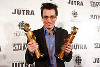 Philippe Falardeau, winner of the<br />