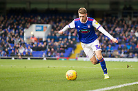 Jack Lankester of Ipswich Town with a free kick during Ipswich Town vs Rotherham United, Sky Bet EFL Championship Football at Portman Road on 12th January 2019