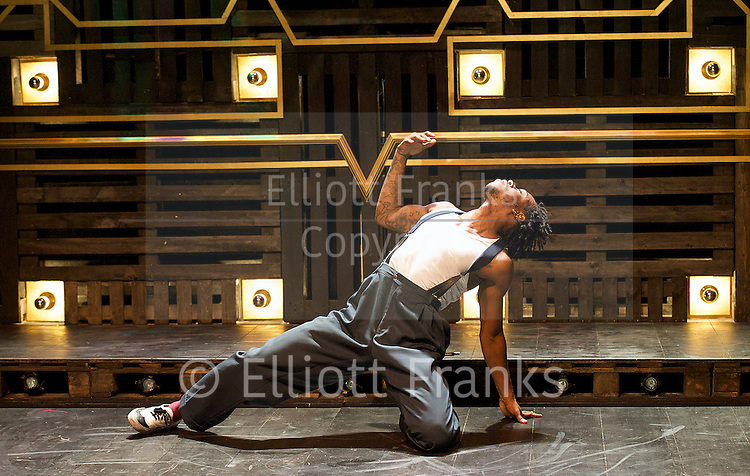 A Harlem Dream <br /> (The Maria)<br /> part of Dance Umbrella 2014 <br /> at the Young Vic Theatre, London, Great Britain <br /> press photocall <br /> 23rd october 2014 <br /> <br /> choreography by Ivan Blackstock <br /> <br /> Birdgang dance company <br /> <br /> Chris Arias <br /> Ivan Blackstock<br /> Darren Charles<br /> Kiel Ewen<br /> Shannelle 'Tali' Fergus<br /> Robia Milliner Brown <br /> L'atisse Rhoden <br /> Rhea T-W<br /> Chaldon Williams<br /> <br /> <br /> <br /> <br /> Photograph by Elliott Franks <br /> Image licensed to Elliott Franks Photography Services