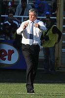 Nick Mallett, allenatore dell'Italia.<br /> Italia vs Irlanda<br /> Six Nations Rugby<br /> Stadio Flaminio, Roma, 05/02/2011<br /> Photo Antonietta Baldassarre Insidefoto