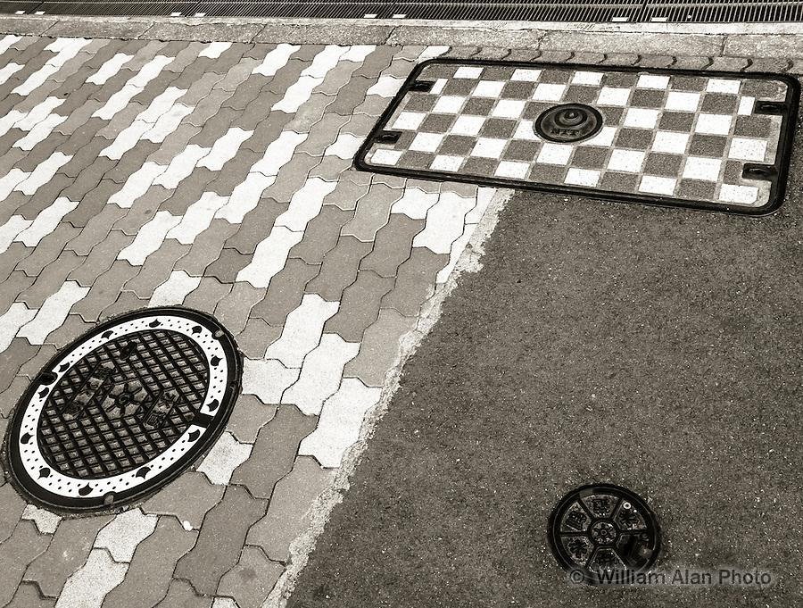 Walk Pattern in Ota, Japan 2014.
