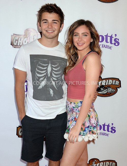 WWW.ACEPIXS.COM<br /> <br /> June 4 2016, LA<br /> <br /> Jack Griffo and Ryan Newman attend the GhostRider reopening at Knott's Berry Farm on June 4, 2016 in Buena Park, California.<br /> <br /> <br /> By Line: Solar/ACE Pictures<br /> <br /> <br /> ACE Pictures, Inc.<br /> tel: 646 769 0430<br /> Email: info@acepixs.com<br /> www.acepixs.com