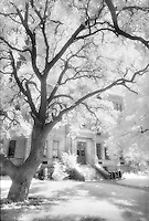 Llano County Courthouse in infrared.<br /> <br /> Nikon F3HP, 24mm lens, red filter, Kodak High Speed Infrared fim