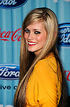 Megan Corkrey at the American Idol Top 12 Party at AREA on March 5, 2009 in Los Angeles, California...Photo by Chris Walter/Photofeatures.