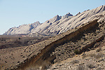 Utah, geologic formations,  Interstate-70, San Rafael Swell, March, USA,