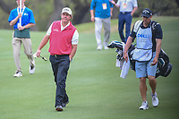 Phil Mickelson (USA) and his caddie/brother make their way down 6 during day 3 of the World Golf Championships, Dell Match Play, Austin Country Club, Austin, Texas. 3/23/2018.<br /> Picture: Golffile | Ken Murray<br /> <br /> <br /> All photo usage must carry mandatory copyright credit (&copy; Golffile | Ken Murray)