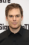 Michael C. Hall attends the Off-Broadway Opening Night of the Signature Theatre's 'Thom Pain' at the Signature Theatre on November 11, 2018 in New York City.