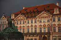 The National Gallery fronts on the Old Town Square in Prague