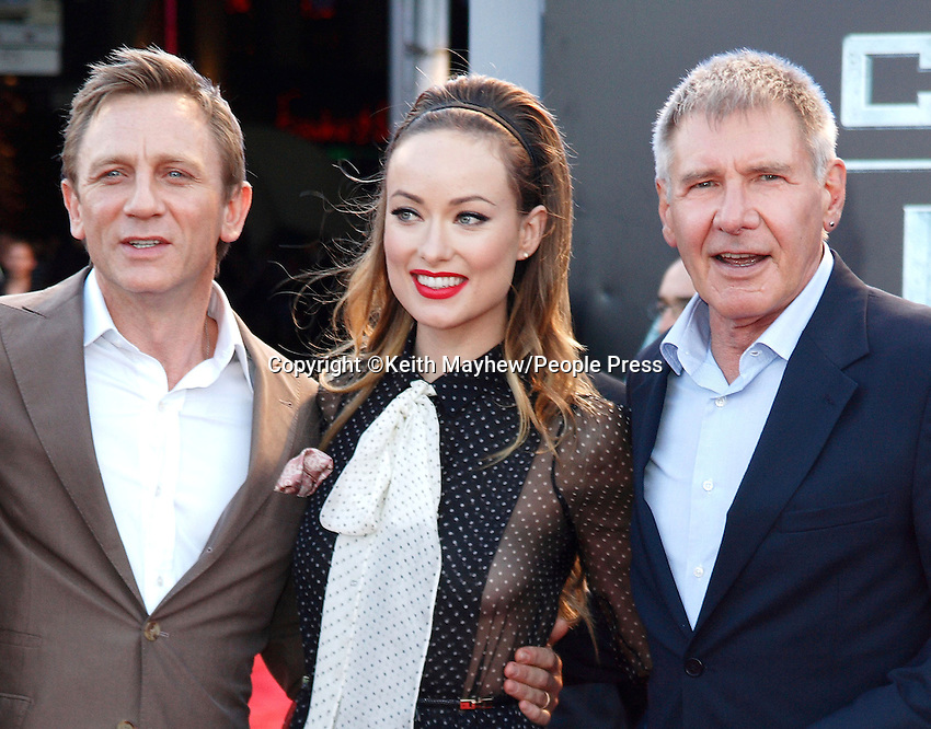 London - UK Premiere of 'Cowboys and Aliens' at the Cineworld cinema at the O2 Arena, London August 11th 2011..Photo by Keith Mayhew