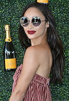 BEVERLY HILLS - OCTOBER 15:  Cara Santana at the 7th Annual Veuve Clicquot Polo Classic at Will Rogers State Historic Park on October 15, 2016 in Pacific Palisades, California. Credit: mpi991/MediaPunch