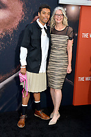 """LOS ANGELES, CA: 01, 2020: Brandon Wilson & Mother at the world premiere of """"The Way Back"""" at the Regal LA Live.<br /> Picture: Paul Smith/Featureflash"""