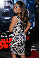 "LOS ANGELES, CA, USA - APRIL 16: Tamala Jones at the Los Angeles Premiere Of Open Road Films' ""A Haunted House 2"" held at Regal Cinemas L.A. Live on April 16, 2014 in Los Angeles, California, United States. (Photo by Xavier Collin/Celebrity Monitor)"